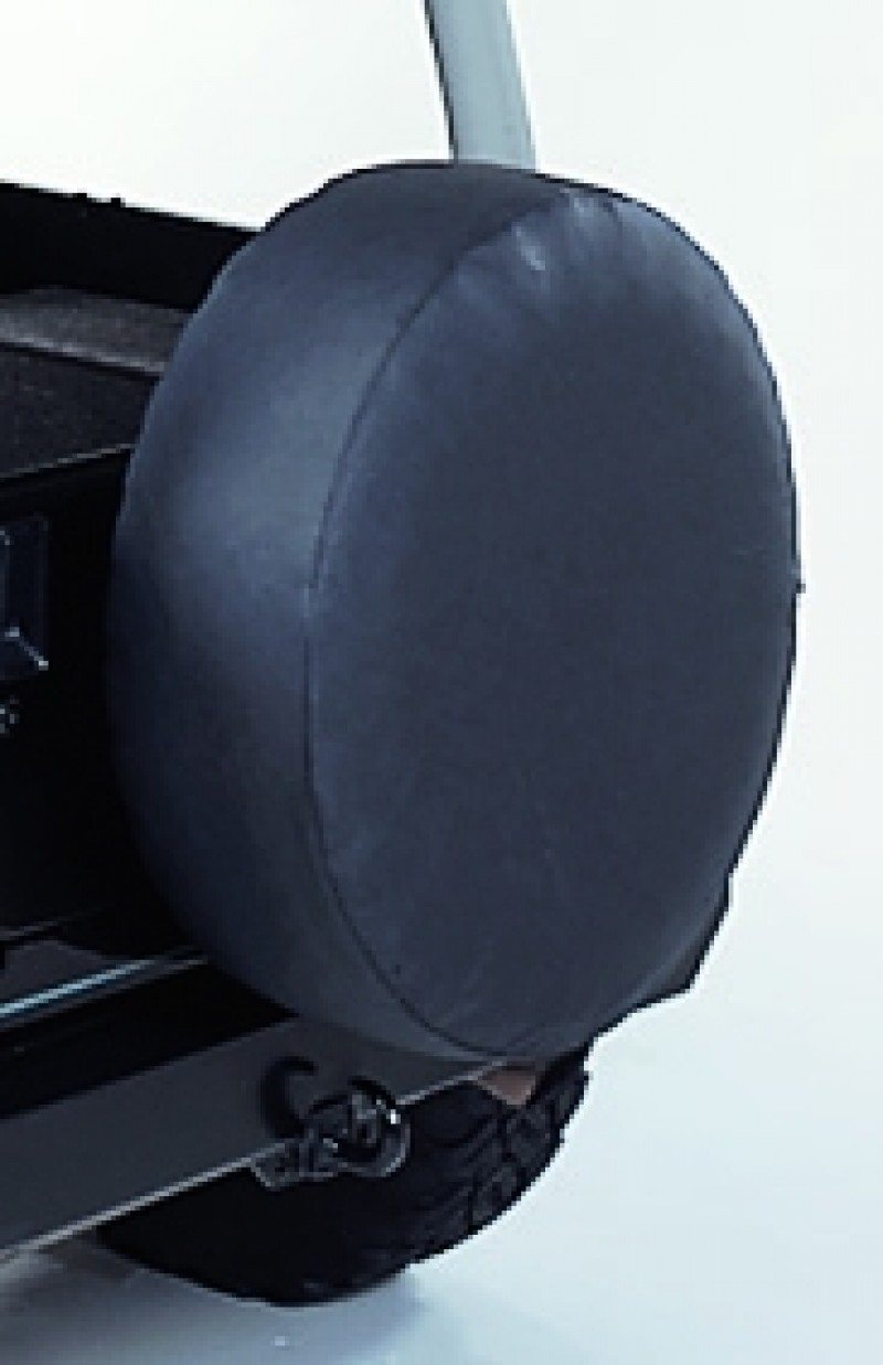 COPRIRUOTA NERO 78 CM IN VINILE