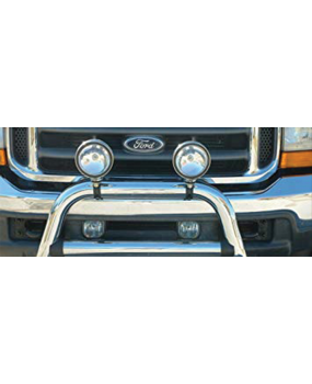 HEADLIGHTS ACC. BRACKET CROMATO